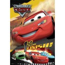 Cars poster PVC effet 3D 1st to the Finish