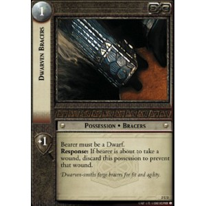 The Lord of the Rings - Mines of Moria - Dwarven Bracers - 2U3