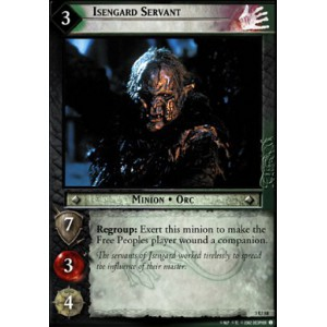 The Lord of the Rings - Realms of the Elf-lords - Isengard Servant - 3U58