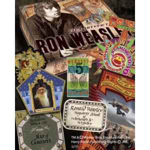 Harry Potter - Boîte d'artefacts Ron Weasley