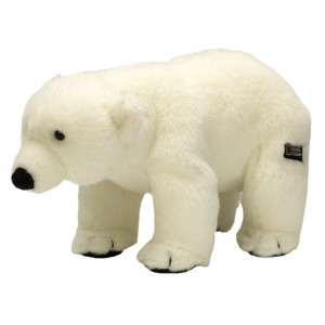 National Geographic - Peluche Ours blanc