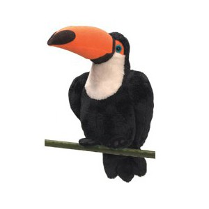 National Geographic - Peluche Oiseau exotique Toucan