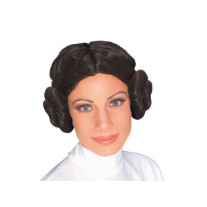 Star Wars - Perruque Princesse Leia
