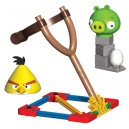 Angry Birds - Jeu de construction Yellow Bird vs. Medium Minion Pig