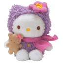 Hello Kitty - Peluche violet 14 cm