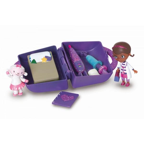 docteur la peluche malette de docteur figurine. Black Bedroom Furniture Sets. Home Design Ideas