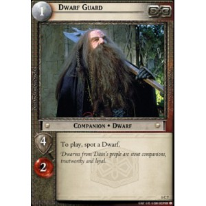 The Lord of the Rings - The Fellowship of the Ring - Dwarf Guard - 1C7