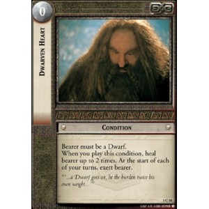 The Lord of the Rings - The Fellowship of the Ring - Dwarven Heart - 1C10