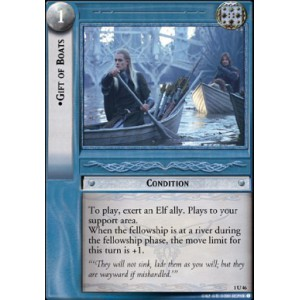 The Lord of the Rings - The Fellowship of the Ring - Gift of Boats - 1U46
