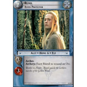 The Lord of the Rings - The Fellowship of the Ring - Rumil, Elven Protector - 1U57