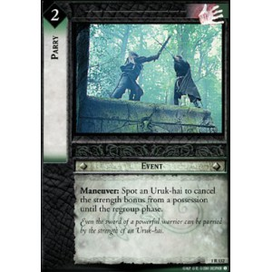 The Lord of the Rings - The Fellowship of the Ring - Parry - 1R132