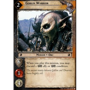 The Lord of the Rings - The Fellowship of the Ring - Goblin Warrior - 1C185