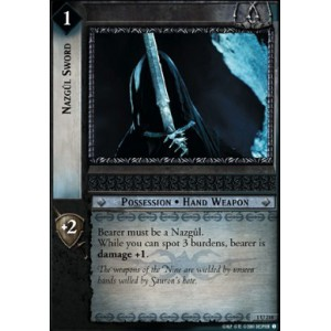 The Lord of the Rings - The Fellowship of the Ring - Nazgul Sword - 1U218