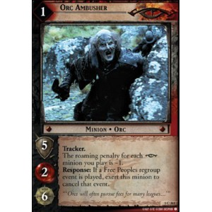 The Lord of the Rings - The Fellowship of the Ring - Orc Ambusher - 1C261