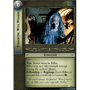 The Lord of the Rings - Mines of Moria - Consorting With Wizards - 2R97