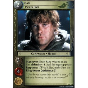The Lord of the Rings - Mines of Moria - Sam, Proper Poet - 2C114