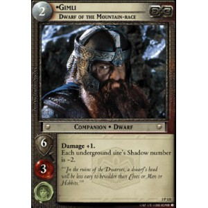 The Lord of the Rings - Mines of Moria - Gimli, Dwarf of the Mountain-race - 2P121