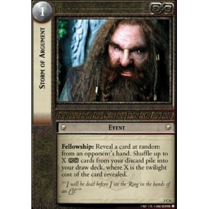 The Lord of the Rings - Realms of the Elf-lords - Storm of Argument - 3C6