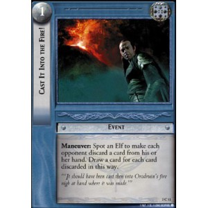 The Lord of the Rings - Realms of the Elf-lords - Cast It Into the Fire! - 3C11