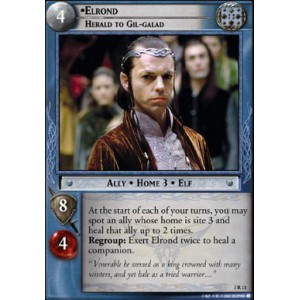 The Lord of the Rings - Realms of the Elf-lords - Elrond, Herald to Gil-galad - 3R13