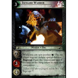 The Lord of the Rings - Realms of the Elf-lords - Isengard Warrior - 3U61