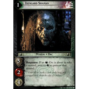 The Lord of the Rings - Realms of the Elf-lords - Isengard Shaman - 3C59 - Version Brillante/FOIL