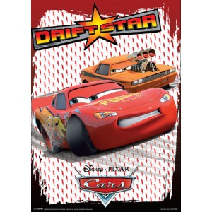 Cars - Poster 3D - Drift Star